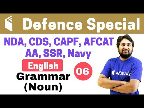Xxx Mp4 7 00 PM CDS Crash Course Defence Special English By Harsh Sir Day 06 Grammar Noun 3gp Sex