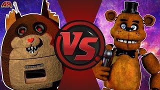 MAMA TATTLETAIL vs FREDDY FAZBEAR! (Tattletail vs FNAF) Cartoon Fight Club Episode 167