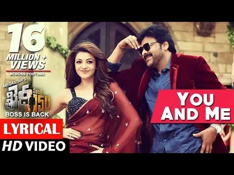 You And Me Full Song lyrical | Khaidi No 150 | Chiranjeevi, Kajal | Rockstar DSP | V V Vinayak