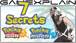 7 Secrets in the Pokémon Sun & Moon Demo