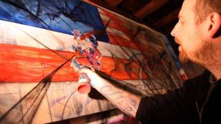 Saber - The American Graffiti Artist - Solo show at the Opera Gallery, New York