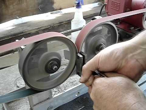 Double Wheel Hollow Grinder
