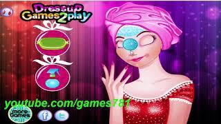 العاب بنات ستايل : لعبة العناية ببشرة بنت جميلة - تلبيس وعناية للبنات فقط