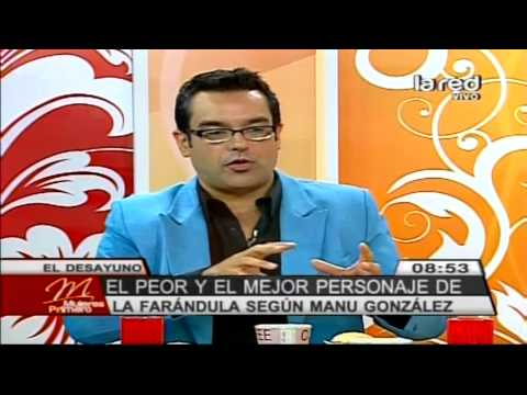 Manu González piensa que Raquel Argandoña representa lo peor y lo mejor de la farándula