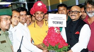 Mustafizur Rahman IPL JOY kore deshe firlen