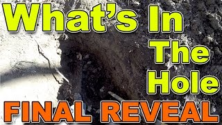 WHAT'S IN THE HOLE! - REVEALED