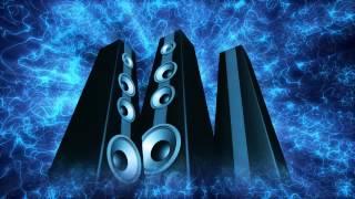 Free Stock Video Download - Rotating Blue Tower Speakers Loop