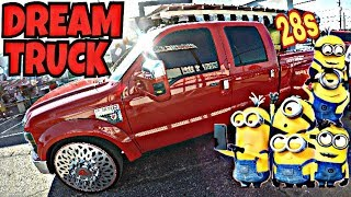 MY DREAM F350 DULLY TRUCK ON 28s!!!