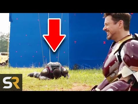 10 Marvel And Superhero Bloopers That Make The Movies Even More Fun