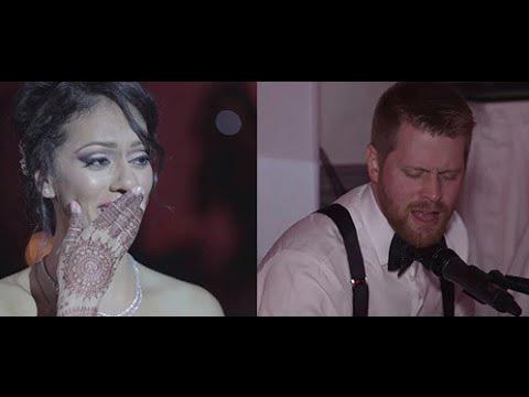 Tum Hi Ho   Frank & Simran   Canadian Groom Sings to Indian Bride