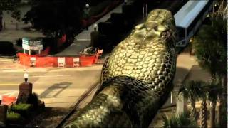 Mega Python Vs. Gatoroid (EEUU, 2011) -    Official Trailer