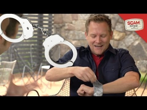 Six Ways to Escape from Handcuffs Zip Ties & Duct Tape