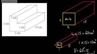GCSE Maths - Volume of 3D Shapes (Prisms Cylinders, Cubes, Cuboids) Foundation Higher