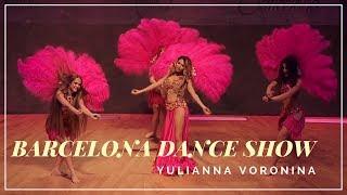 Belly Dance and the Yulianna Voronina Belly Dancer show in Barcelona (Spain) super dancer chapter 2