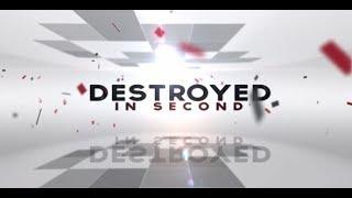 Destruction Compilation Destroyed In Seconds Video Compilation 2018