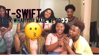 Taylor Swift Look What You Made Me Do Official Video Reaction|Reacting With The Coops