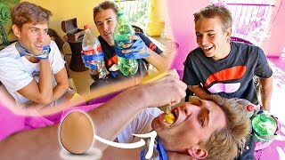 FUNK BROS SIBLING CHALLENGE! (wrong answer = punishment)