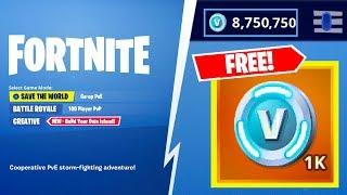 Fortnite V-Bucks 2019