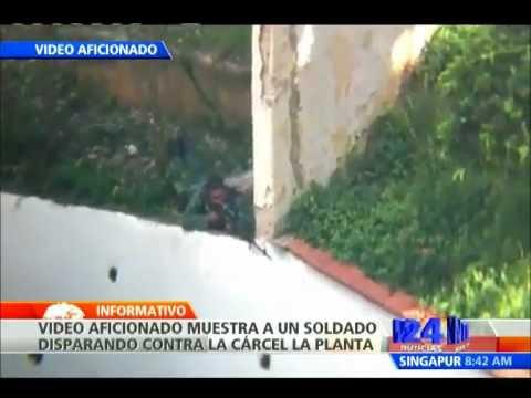 Video aficionado muestra tiroteo en la cárcel La Planta de Venezuela