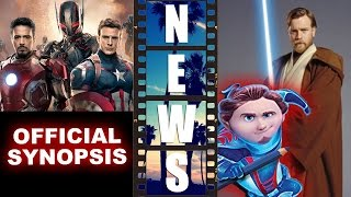 Avengers 2 Synopsis! BOO Bureau of Otherworldly Operations! Obi-Wan Movie?! - Beyond The Trailer
