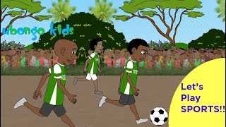The Best Sports Scenes from Ubongo Kids | Positive Black Cartoons for Kids