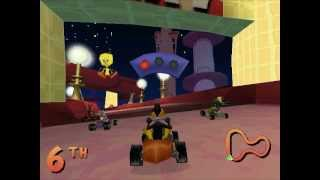 Let's Play Looney Tunes Racing - Part 1 - Rascal Championship [1/2]