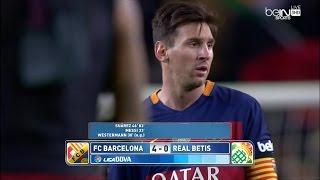 ملخص مبارة برشلونة و ريال بيتيس 4-0 الدوري الاسباني 30-12-2015