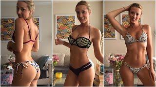 Bikini try-on haul | Trying on my old bikinis, which do YOU like?
