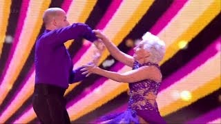 Britain's Got Talent Season 8 Semi-Final Round 5 Paddy & Nico 79 Year Old Superwoman Dancer