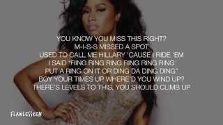 Nicki Minaj - Back Together (Verse - Lyrics Video)