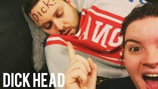 Dick head (Permanent Marker Prank)