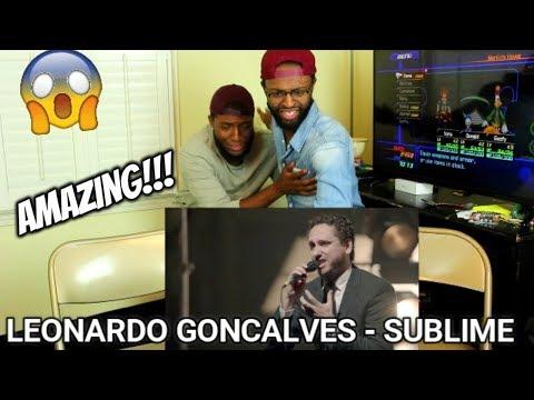 Leonardo Gonçalves - sublime (Vídeo Ao Vivo) (REACTION)