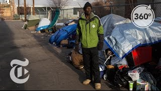 Sleeping on Denver's Bitter Cold Streets | The Daily 360 | The New York Times