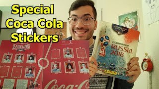 SPECIAL COCA COLA STICKERS PANINI GOLD EDITION | Stickers Russia 2018 Collection