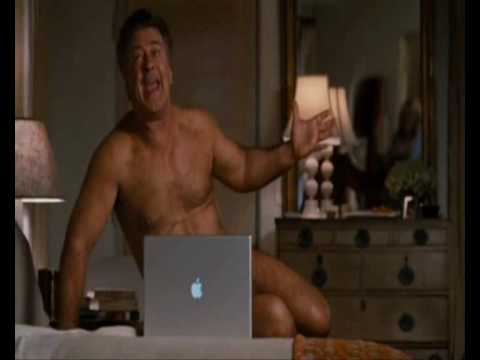 Alec Baldwin Nude in It's Complicated.Funniest scene HD