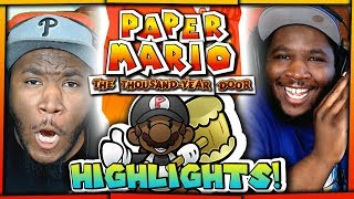 HIGHLIGHTS REEL! | Paper Mario The Thousand Year w/ @PKSparkxx