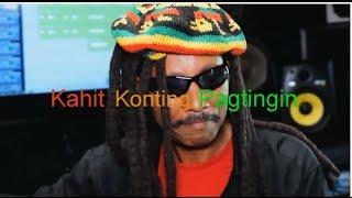 """Jamaican sings TAGALOG  Filipino love song """"KAHIT KONTING PAGTINGIN"""" by Sharon Cuneta"""