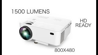 T21 HD READY Mini Projector - Play PS4, Watch Movies on 176 inch HD Screen by DBPOWER