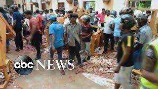 Terrorist attack in Sri Lanka leaves more than 200 dead