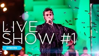 L'opening del primo Live di X Factor 2016