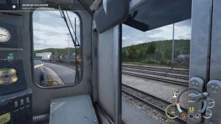 Train Sim World: CSX Heavy Haul. (PC) Scenario: A Helping Hand. (4K)