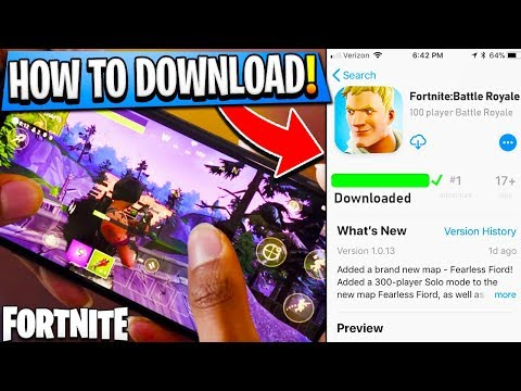 Xxx Mp4 How To DOWNLOAD Fortnite On MOBILE Fortnite IOS Android FREE DOWNLOAD Fortnite Battle Royale 3gp Sex