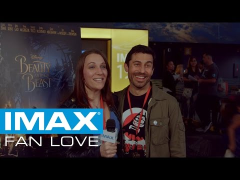 FANS AGREE BEAUTY AND THE BEAST IS MADE FOR IMAX