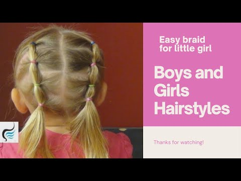 Xxx Mp4 How To Style French Braid Toddler Pigtails Hairstyles Tutorials 3gp Sex