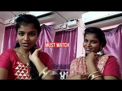 Tamil girl Nilavazhagi Poyyamozhi's Cute dubsmash | Dont miss it