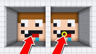 HE CHEATED! MINECRAFT SPOT THE DIFFERENCE!