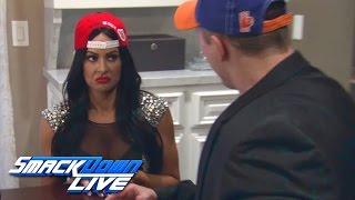 """Miz and Maryse present """"lost"""" footage of Total Bellas Part-4: SmackDown LIVE, March 28, 2017"""