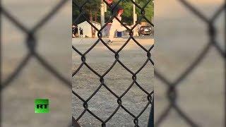 Triggering footage: Gunman opens fire on GOP baseball practice