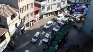 View from Aizawl's Millenium Centre