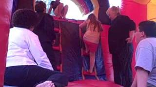 Boobs in the Bouncy House